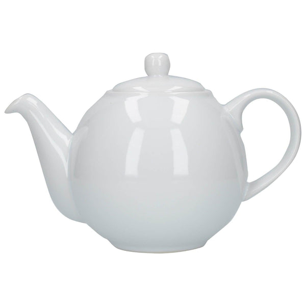 London Pottery Globe 4 Cup Teapot - White