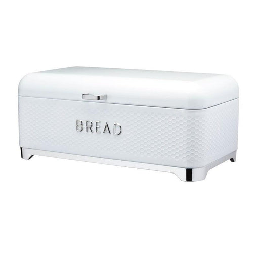 LOVBBWHT Lovello Textured Ice White Bread Bin - Main