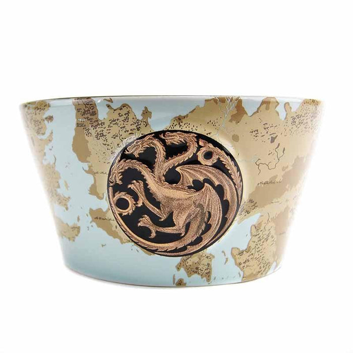 Game of Thrones Bowl - Plaque & Map