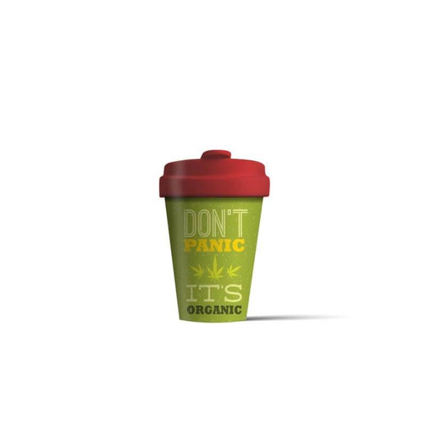 BambooCup 'Don't Panic It's Organic' Travel Mug - 400ml
