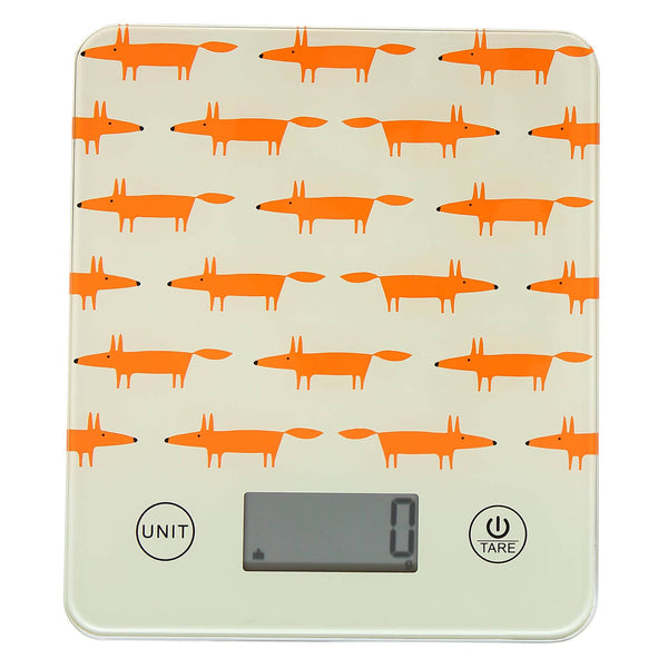 Scion Living Mr Fox Electronic Kitchen Scales - Stone