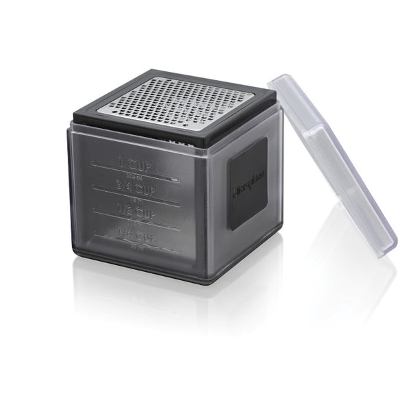 Microplane 3-in-1 Cube Grater - Black