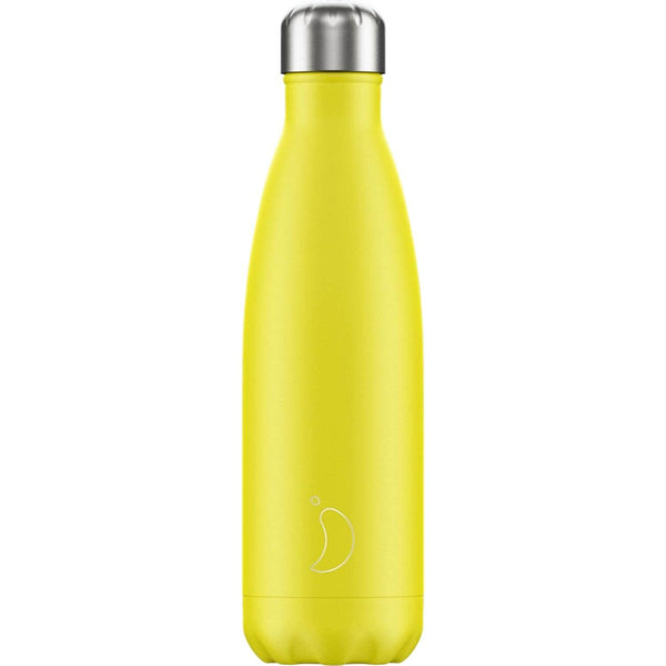 Chilly's 500ml Neon Drinks Bottle - Yellow
