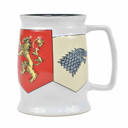 MUGTDGT06 Game of Thrones Sigils Tankard Mug - Front