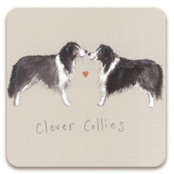 Alex Clark Coaster - Clever Collies