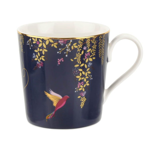 Sara Miller London Chelsea 340ml Mug - Navy