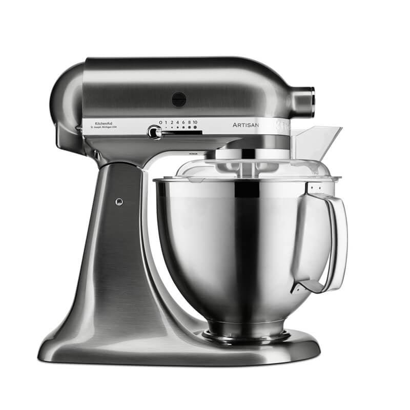 KitchenAid Artisan 5KSM185PSBNK Stand Mixer - Brushed Nickel