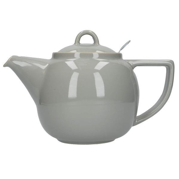 London Pottery Geo Filter 4 Cup Teapot - Cobblestone