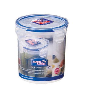 HPL932D Lock & Lock Round Food Container - 700ml