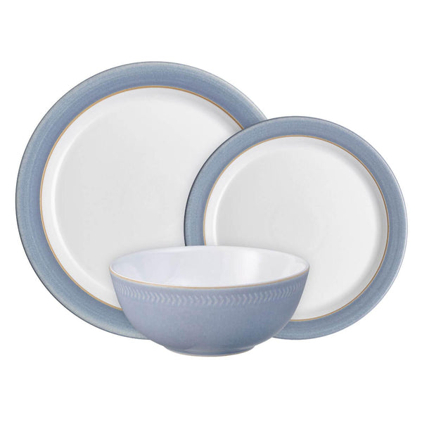 Denby 12 Piece Dinnerware Set - Natural Denim