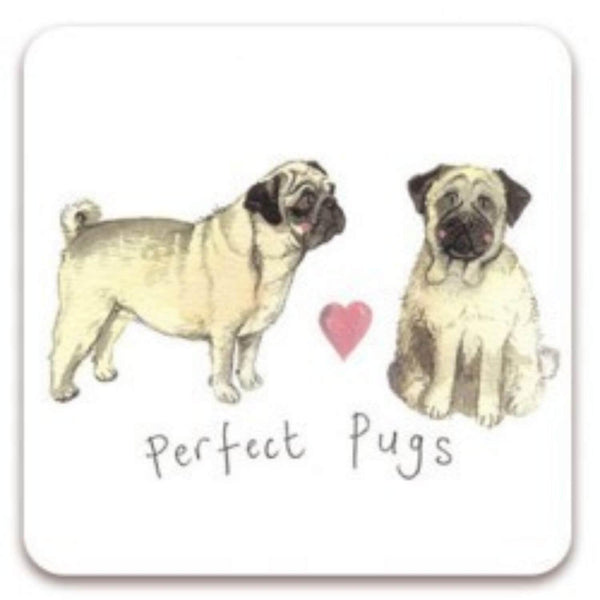 Alex Clark Coaster - Perfect Pugs