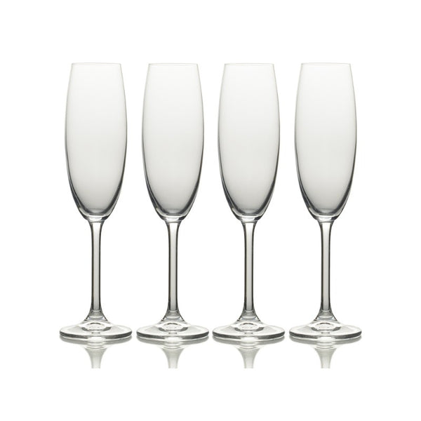 5191918 Mikasa Julie Set of 4 Flute Glasses
