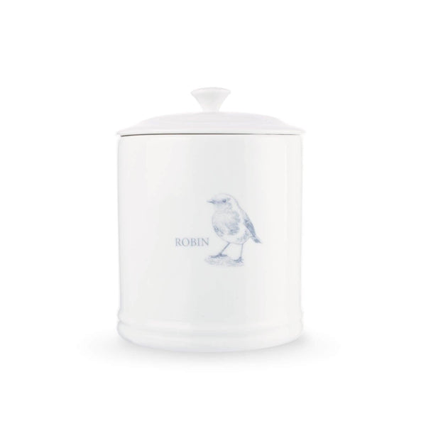 Mary Berry English Garden Sugar Canister - Robin