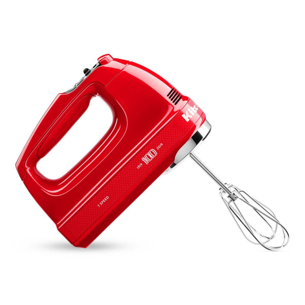 KitchenAid Queen of Hearts 7 Speed Hand Mixer - Red