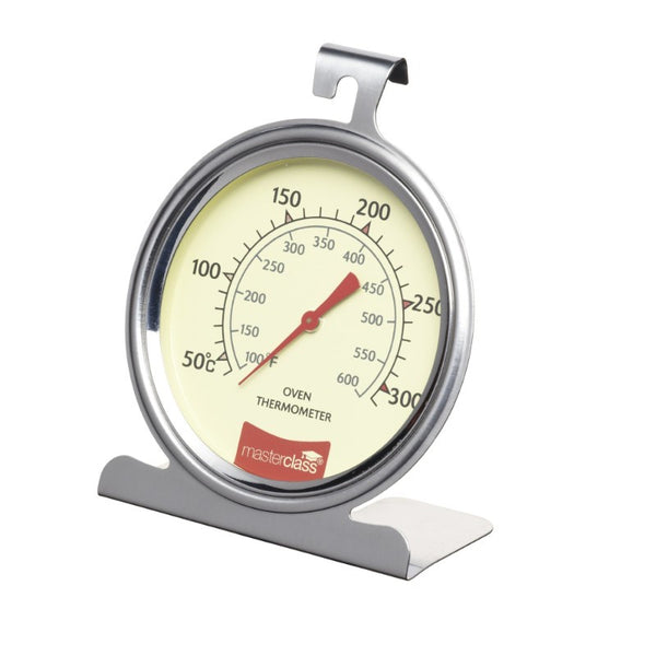 MasterClass Stainless Steel Oven Thermometer - Large