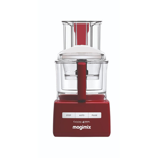 Magimix Cuisine Systeme 4200XL Food Processor - Red