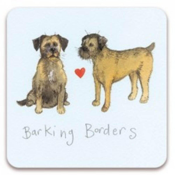 Alex Clark Coaster - Barking Borders