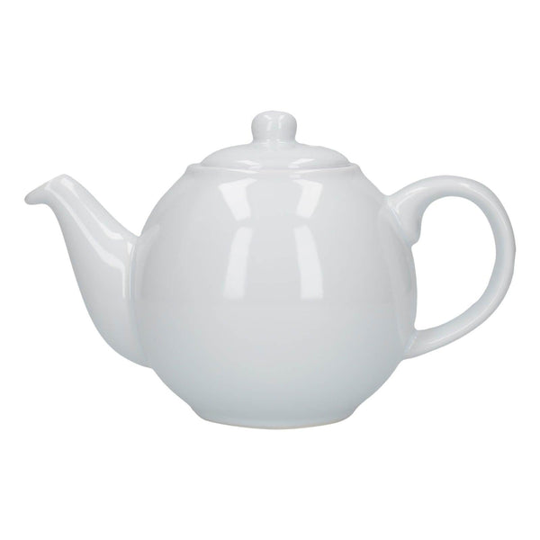 London Pottery Globe 2 Cup Teapot - White