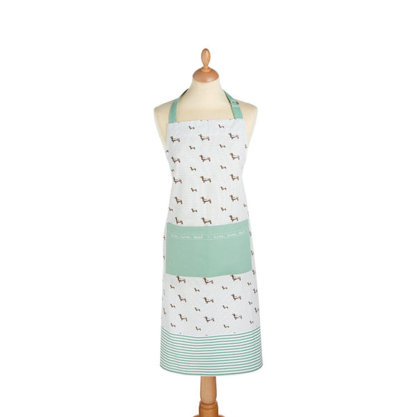 KitchenCraft Cotton Apron - Dachshund