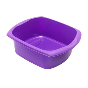 Addis Large 9.5 Litre Rectangle Washing Up Bowl Purple