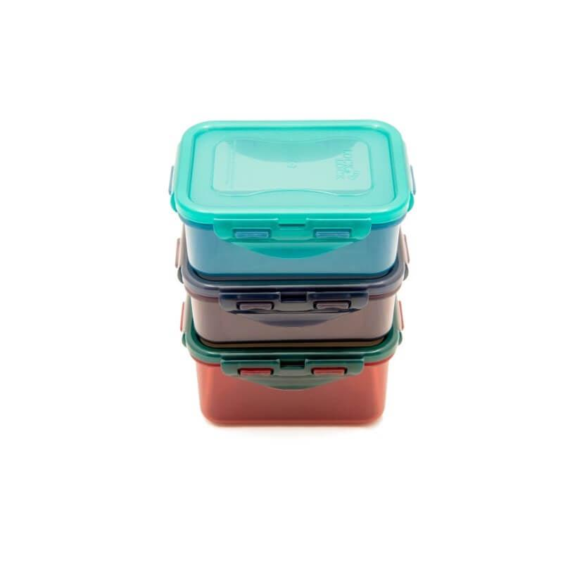 Lock & Lock Eco Rectangle Food Container Set - 3 Piece