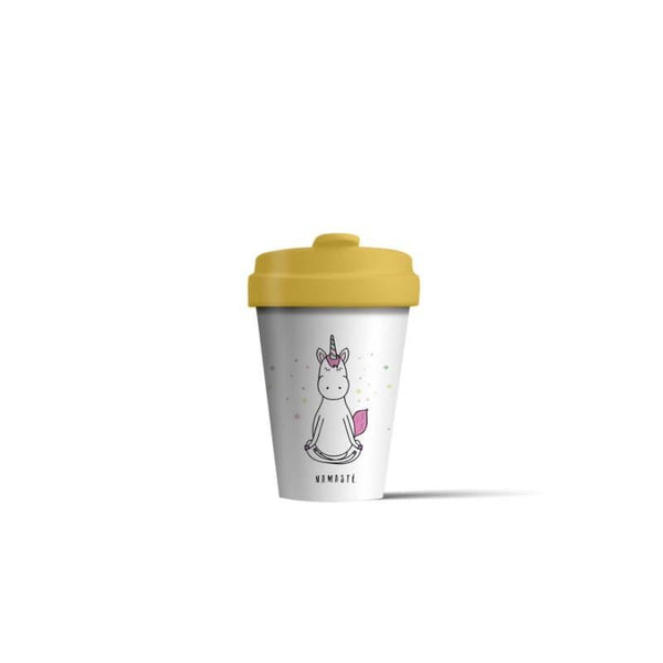 BambooCup 'Magic Namaste' Travel Mug - 400ml
