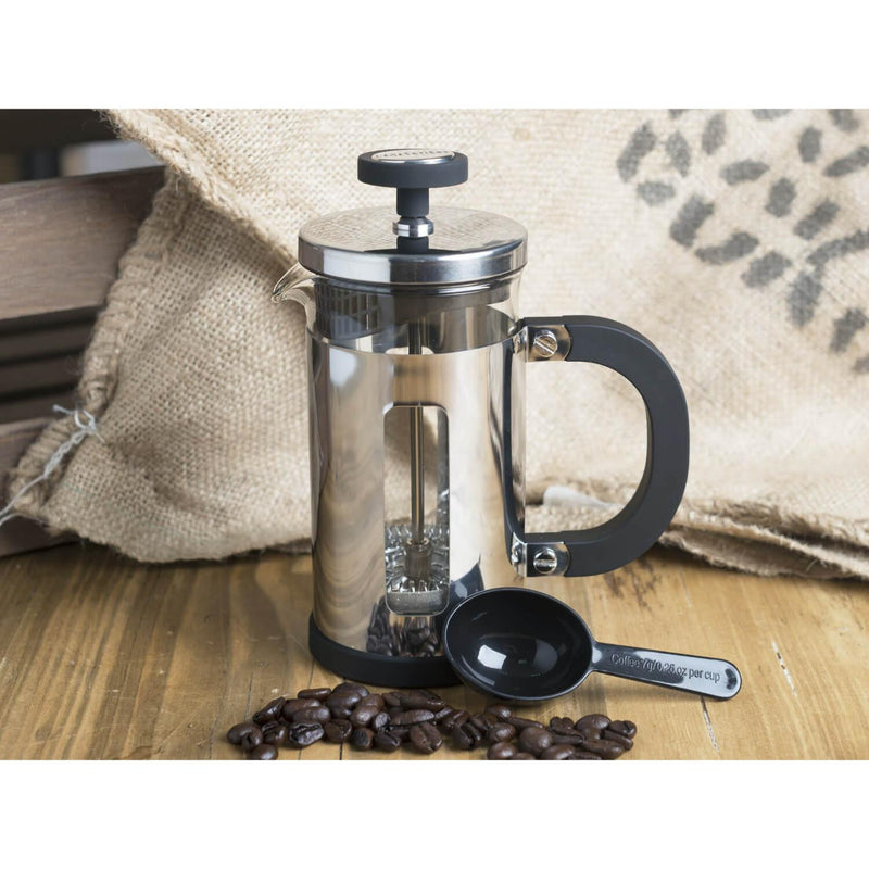 La Cafetiere Pisa Chrome Cafetiere - 3 Cup