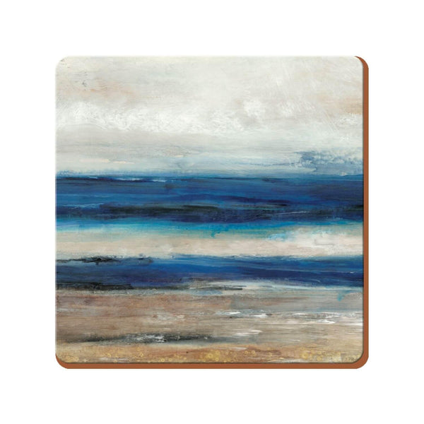 Creative Tops Premium Coasters - Blue Abstract