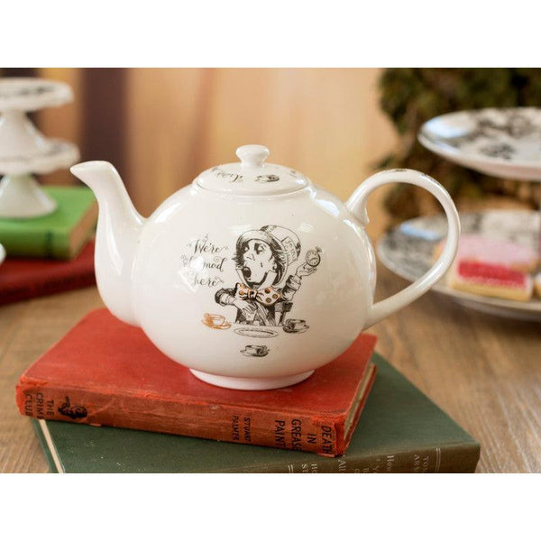 Alice in Wonderland Teapot - Large