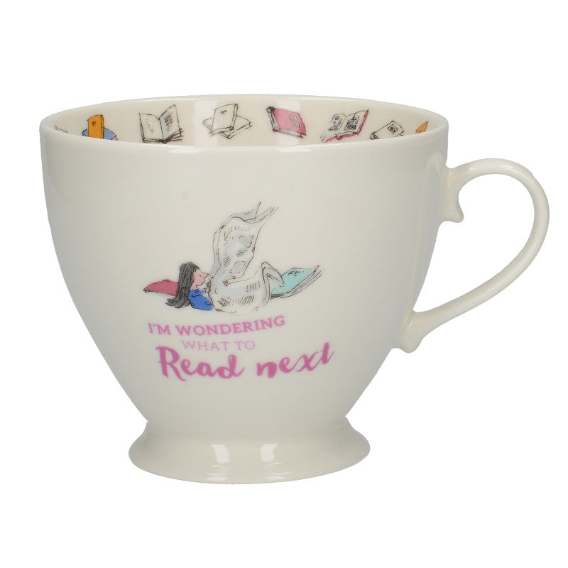 Roald Dahl Matilda Illustrated Fine Bone China Footed Mug