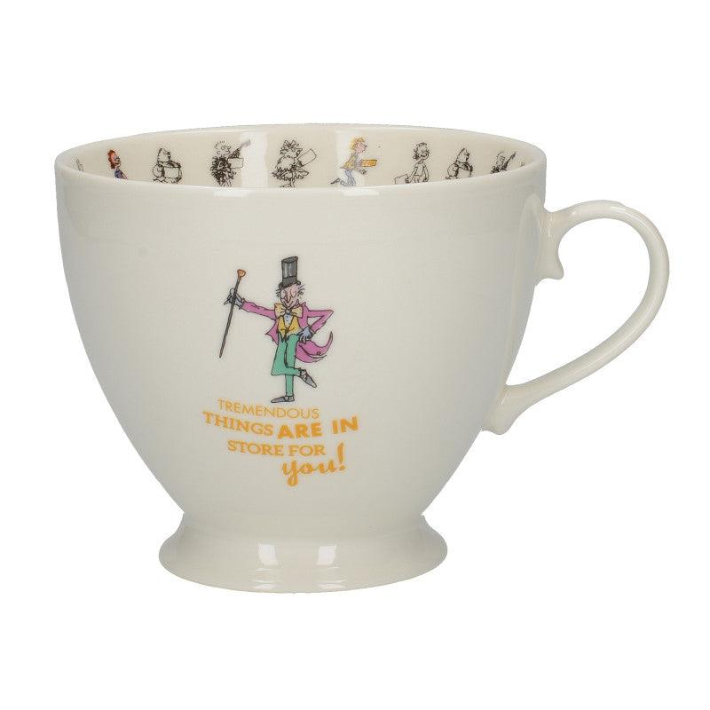 Roald Dahl Charlie & The Chocolate Factory Fine Bone China Footed Mug