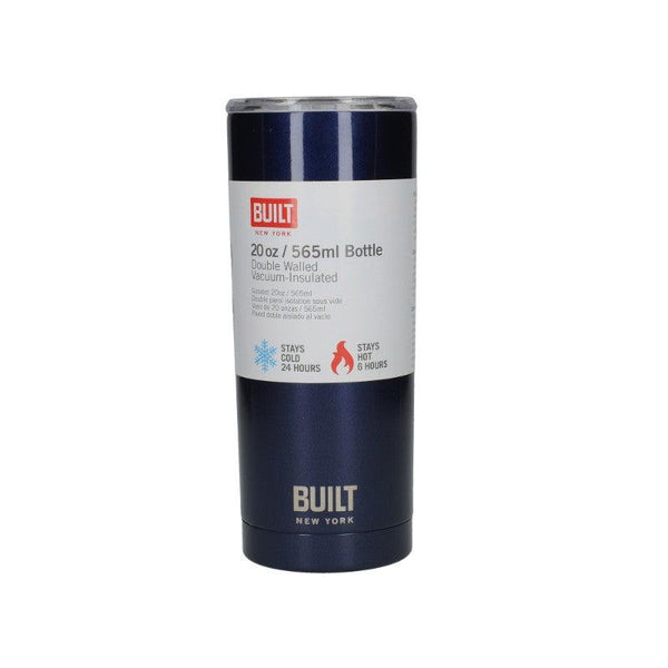 5226848 Built 20oz Double Walled Midnight Blue Tumbler - With Packaging