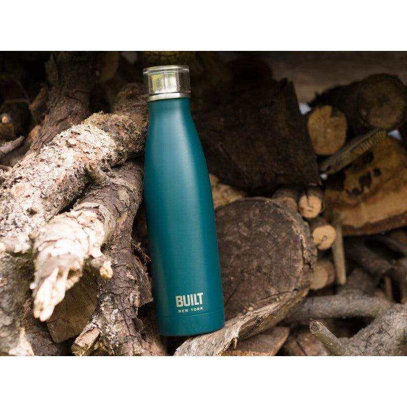 5234711 Built 17oz Double Walled Teal Drinks Bottle - Lifestyle