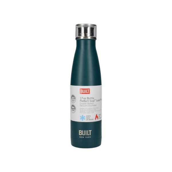 5234711 Built 17oz Double Walled Teal Drinks Bottle - With Packaging