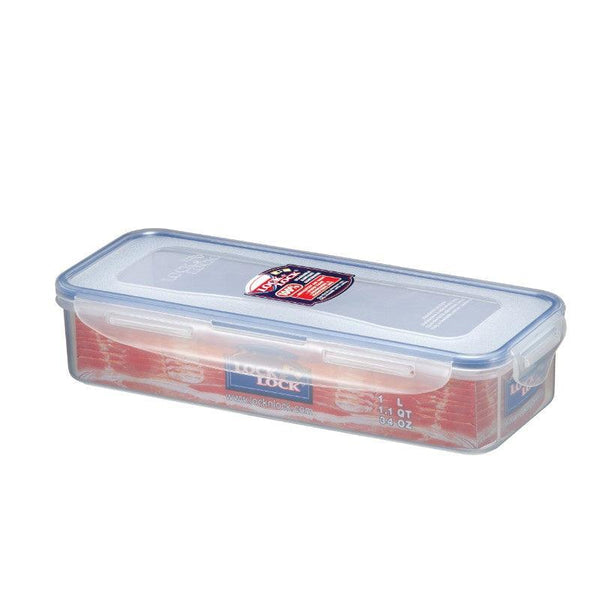 HPL842 Lock & Lock Bacon Box With Freshness Tray - 1 Litre