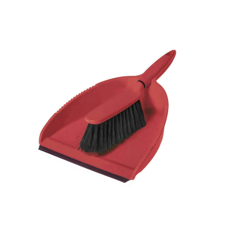 Greener Cleaner Dustpan & Brush - Red