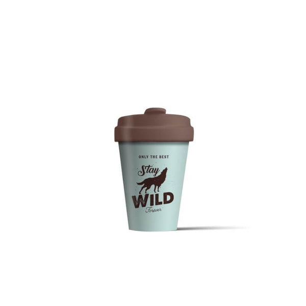 BambooCup 'Stay Wild' Travel Mug - 400ml
