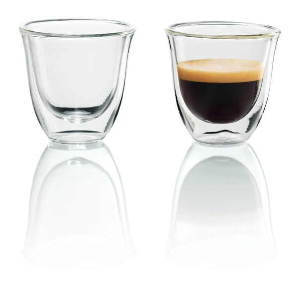 De'Longhi Espresso Glasses - Set of 2