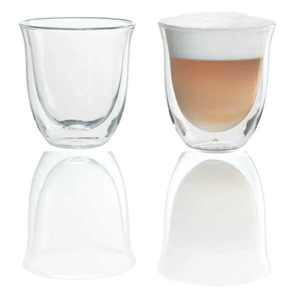 De'Longhi Cappuccino Glasses - Set of 2