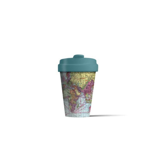 BambooCup 'Around The World' Travel Mug - 400ml
