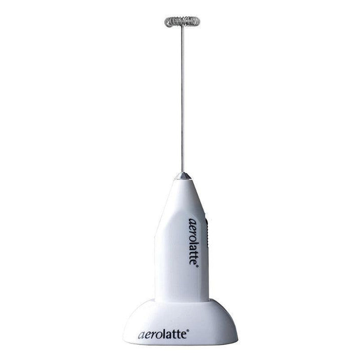 Aerolatte White Milk Frother With Stand