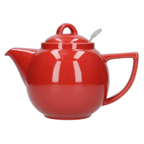London Pottery Geo Filter 2 Cup Teapot - Red