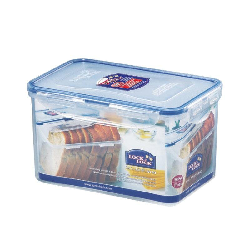 HPL818 Lock & Lock Rectangular Food Container - 1.9 Litre