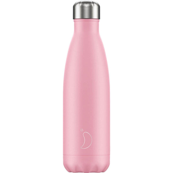 Chilly's 500ml Neon Drinks Bottle - Pastel Pink