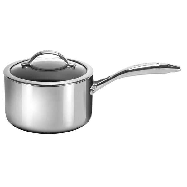 Scanpan HaptIQ Non-Stick Saucepan With Lid - 18cm