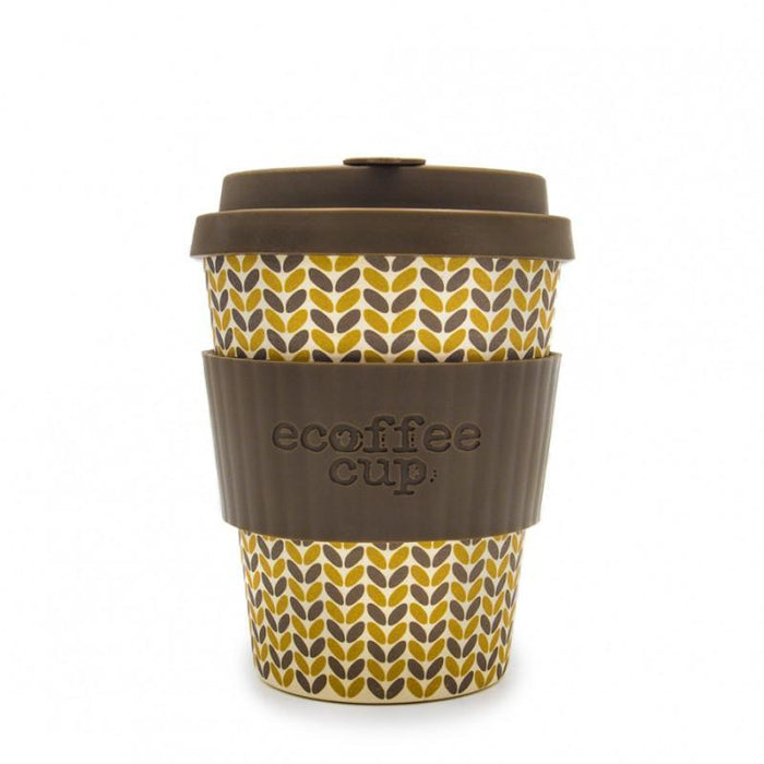 Ecoffee Cup Threadneedle 340ml Bamboo Travel Mug