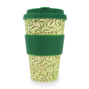 Ecoffee Cup William Morris Willow 400ml Bamboo Travel Mug