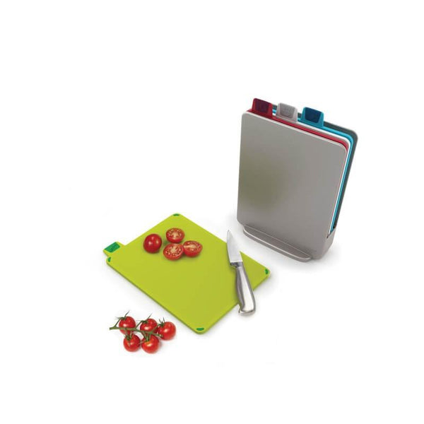Joseph Joseph Index Mini Chopping Board Set - Silver