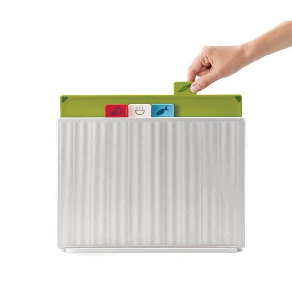 Joseph Joseph Index Chopping Board Set Large - Silver