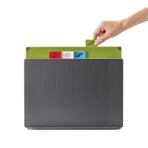 Joseph Joseph Index Chopping Board Set Large - Graphite